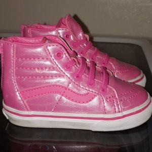Toddler VANS pink size 6